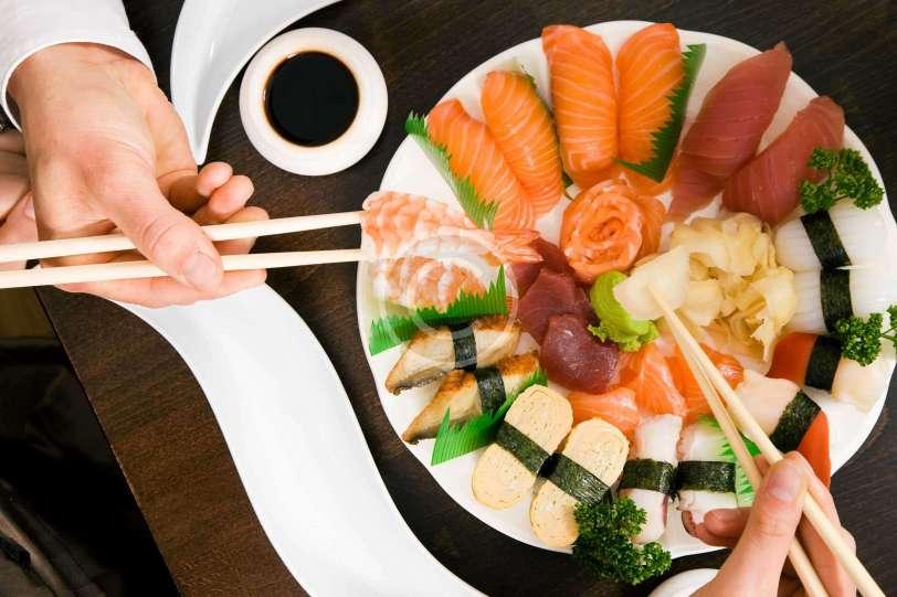 Dreams of Sushi in Sukiyabashi