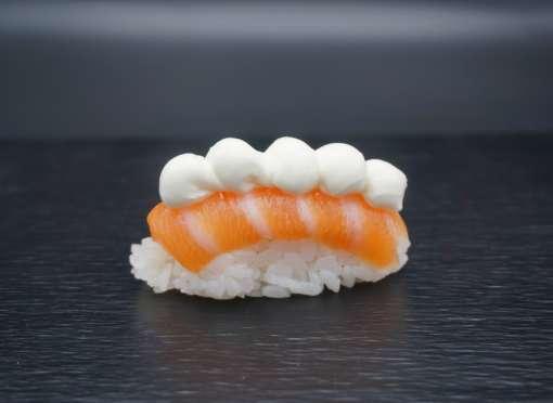 sushis saumon cheese