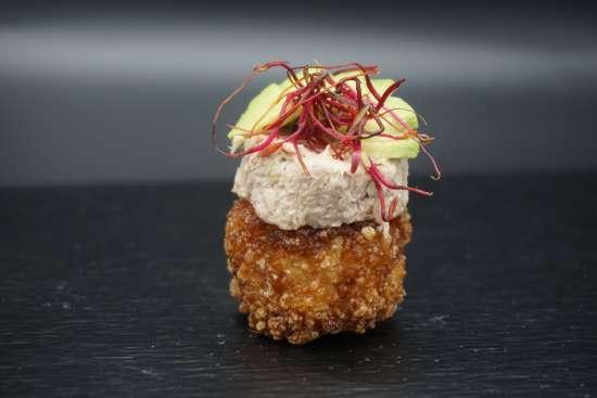 riz croustillant thon cuit