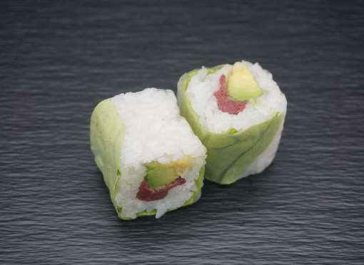 Spring rolls magret canard fumé