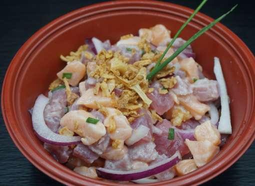 Tartares mix saumon thon