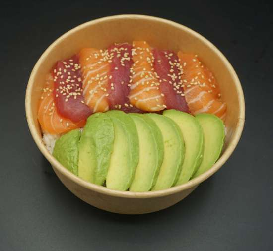 Chirashi mix saumon et thon + 1 boisson au choix